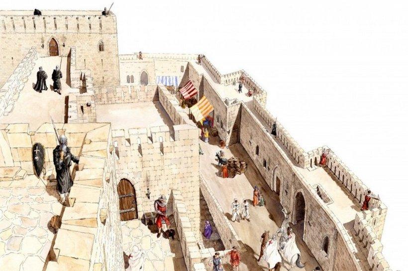 en el video se pueden ver el Castillo en Terrazas